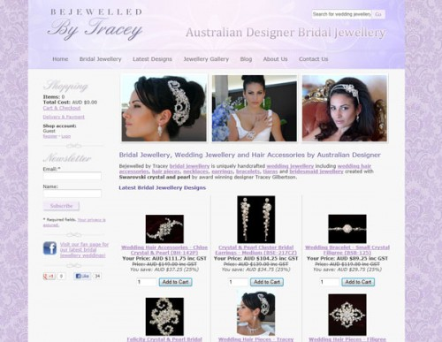Bejewelled By Tracey - Wedding Jewellery
