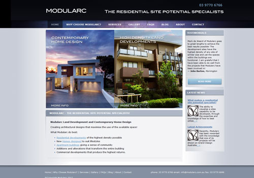 Modularc Land Development