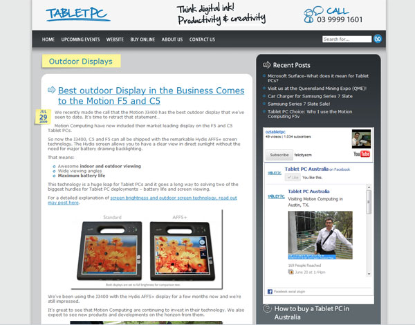 Tablet PC Blog