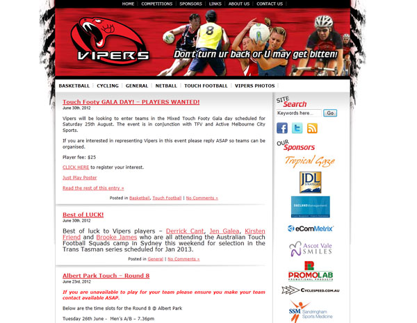 Vipers Sports
