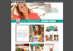 Rachael Campbell Custom Wordpress Website