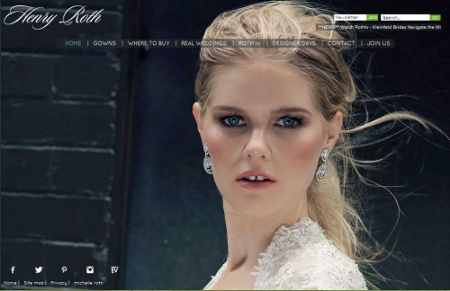 Henry Roth Designer Wedding Gowns
