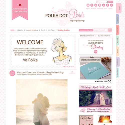 Polka Dot Bride 2013