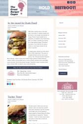 The Great Burger Caper